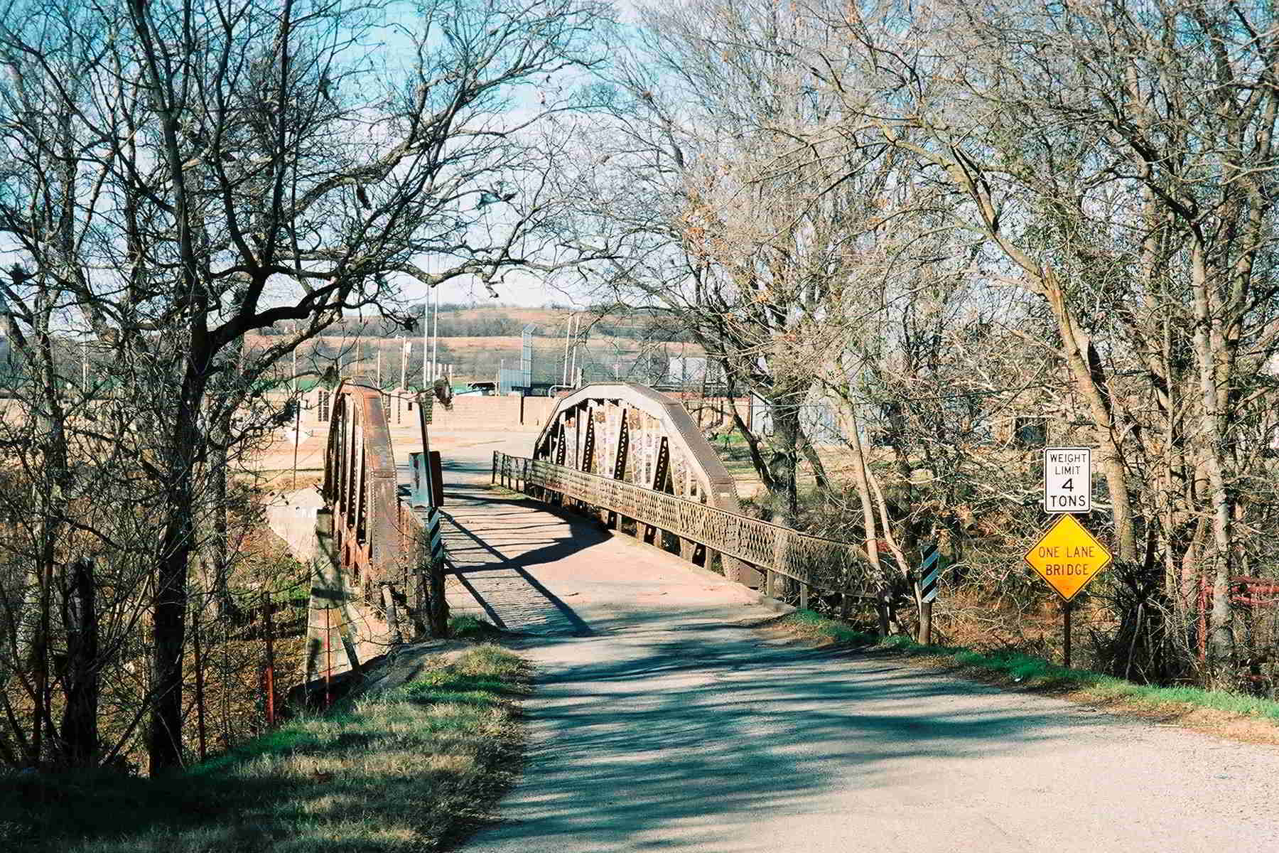 Ripley oklahoma swinging bridge