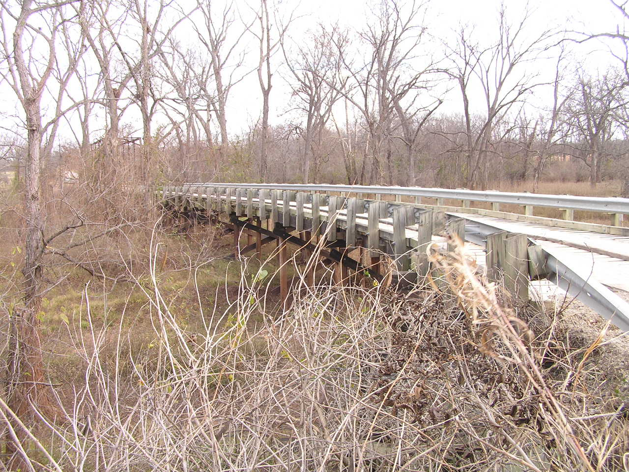 Deep Fork River Bridge