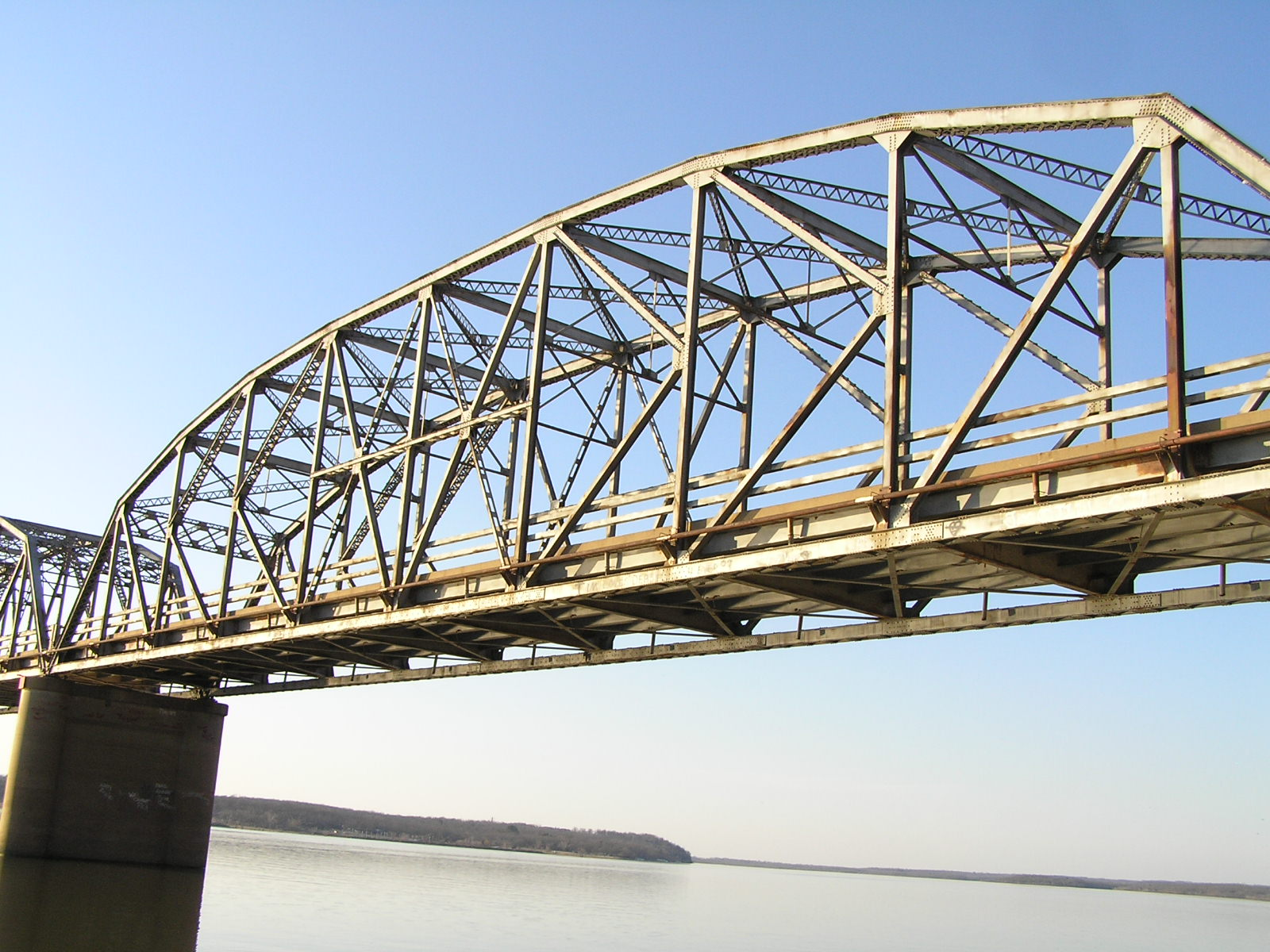 truss bridges in oklahoma