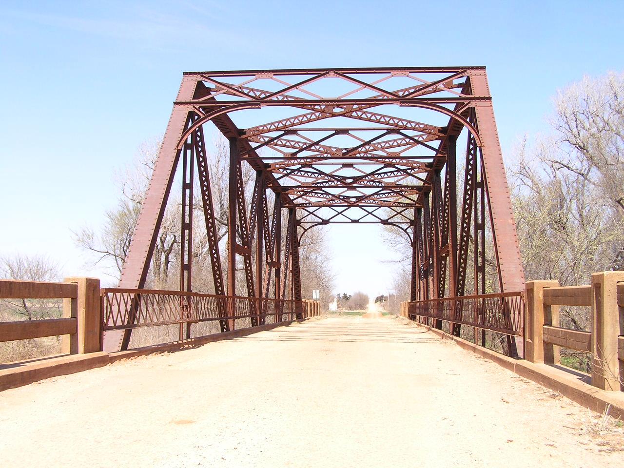 Truss Bridges In Oklahoma Warren Bridge Diagram Component Inside Skeletoncreek6b